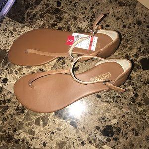 Michael Kors Leather Sandals Size 6